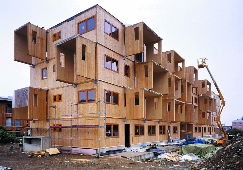 Mediniai namai uab mediniai namai atlikti darbai ir for Construction bois massif